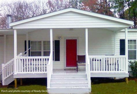 Mobile Home Porches
