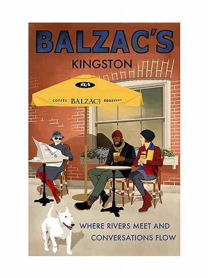 Poster Balzacs Kingston Coffee Niagara Lake Posters