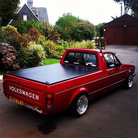 volkswagen caddy pickup lifted retro and rusty oh and me photo bilar pinterest