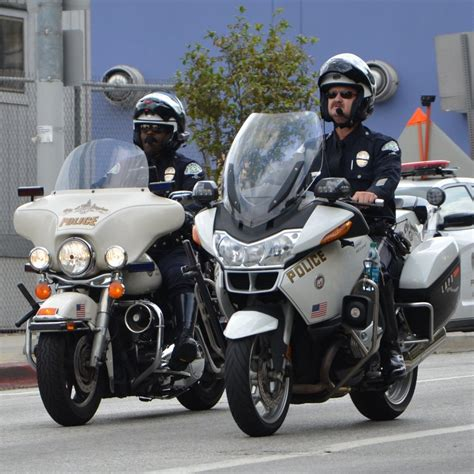 Police With Bikes Hd Wallpaper