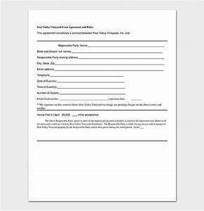 Sample Event Planning Contract Event Contract Template 19 Samples Examples In Word