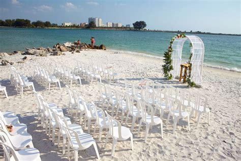 shepards beach resort clearwater beach florida wedding