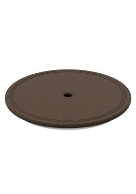 lazy susan for umbrella table lazy susan w umbrella hole tropitone