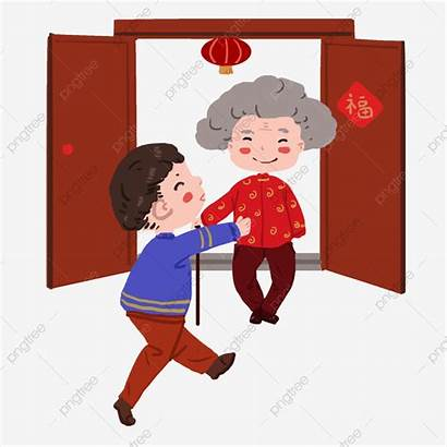 Clipart Grandmother Grandma Webstockreview Chinese Pig