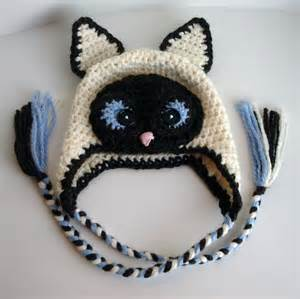 crochet hats for cats siamese cat hat by crochetbyjen craftsy