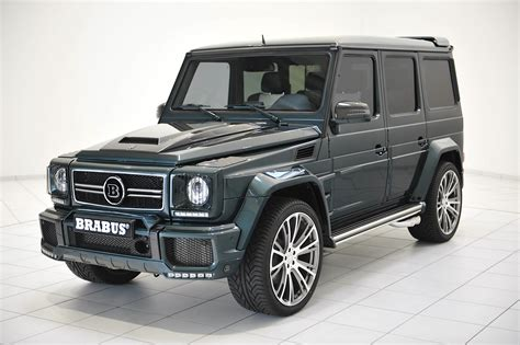 This 700 Hp Brabus G 63 Amg Isn't Giggling At Your Jokes