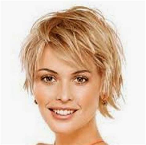 short hairstyles  fine hair    face