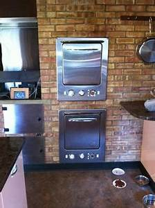 2 Stainless Steel Vintage 1954 Thermador L U0026h Wall Ovens