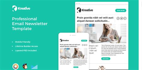 Top 25 Free & Paid Mailchimp Email Templates 2018