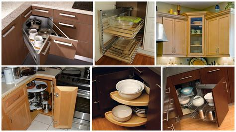 Saving Space: 12 Corner Kitchen Cabinets   Top Inspirations