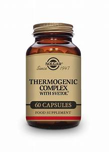 Thermogenic Complex With Svetol Vegetable Capsules