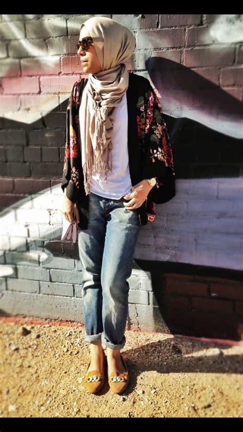street style hijab hijab fashion pinterest head scarfs  outfit  kimonos