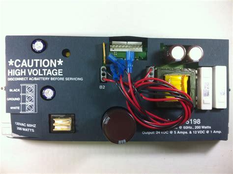 Silent Knight Sk5197  Sk5198 Power Supply