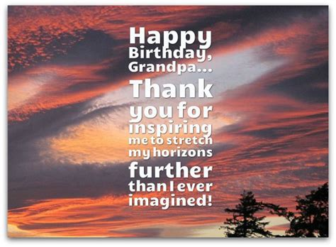 grandpa birthday wishes page