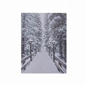 Deko Vögel Zum Aufhängen : led leinwand bild zum aufh ngen weihnachten winter deko geschenk wand dekoration kaufen bei ~ Orissabook.com Haus und Dekorationen