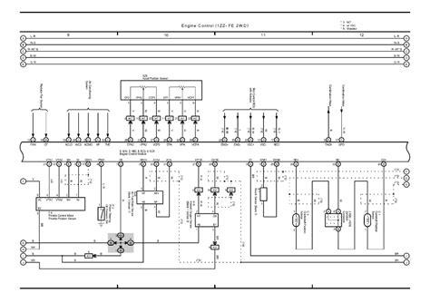 nz fe ecu wiring diagram  somurichcom
