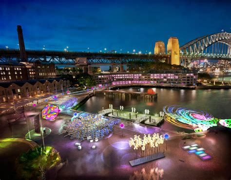 festival of light in sydney the best lighting designers
