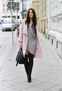 Fall 2015 Fashionable Outfits with Over-knee Boots - Pretty Designs