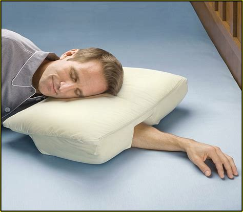 best side sleeping pillow best pillow side sleeper arm home design ideas