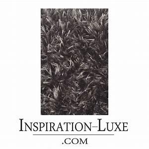 Tapis de luxe contemporain gris vesuvio par angelo for Tapis contemporain luxe