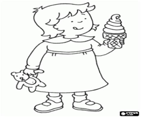 Caillou Coloring Pages - Eskayalitim