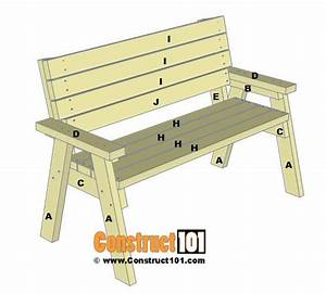2x4 Bench Plans - Step-by-step