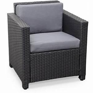 Fauteuil De Jardin En Résine Tressée : fauteuil de jardin resine l 39 univers du jardin ~ Teatrodelosmanantiales.com Idées de Décoration
