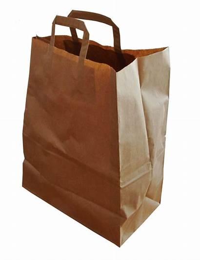 Bag Paper Shopping Transparent Sac Courses Brown