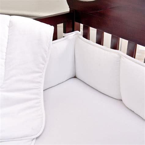 crib bumpers white pique crib bumper carousel designs