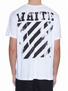 4f71cc8d0b37 lyst off white c o virgil abloh caravaggio annunciation print cotton t shirt  in white for men