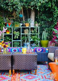 perfect eclectic patio decor ideas Outdoor Decorating Ideas: A Lush, Eclectic, Bohemian LA Patio