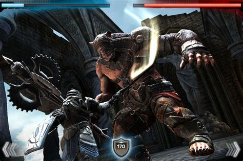 infinity blade for android о выходе infinity blade 2 на android