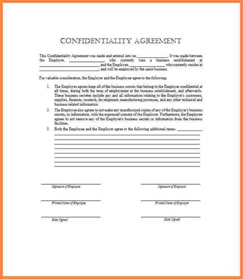 employee confidentiality agreement template purchase