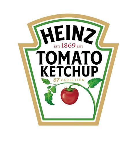 heinz label template   ketchup food brand logos