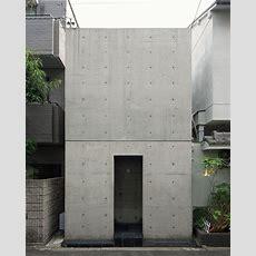 Row House In Sumiyoshi Tadao Ando, Osaka, Feb 1976
