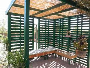 Pallet patio/shade - YouTube