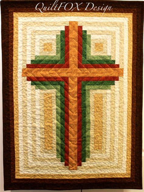 log cabin christian cross multiple sizes  judit hajdu