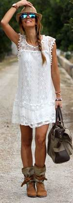 robe de mariã e hippie chic robes de mode robe blanche hippie chic