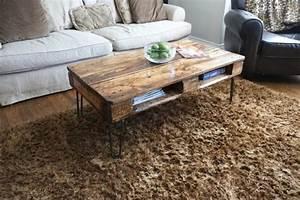 Couchtisch Aus Paletten : der paletten tisch etwas rustikal aber trotzdem attraktiv ~ Bigdaddyawards.com Haus und Dekorationen