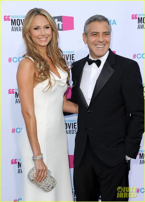 Is george clooney mixing business with pleasure? George Clooney & Stacy Keibler - Critics' Choice Awards ...