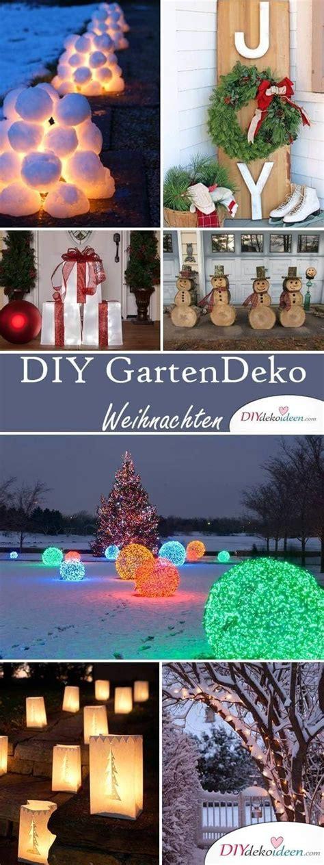 diy deko garten diy deko ideen zu weihnachten den garten gestalten