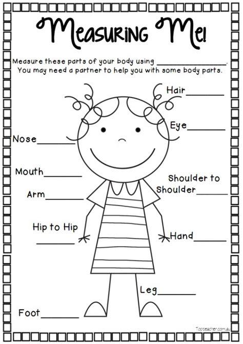 measuring  boy  girl templates top teacher