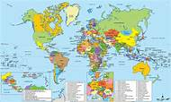 Coordinate World Map on