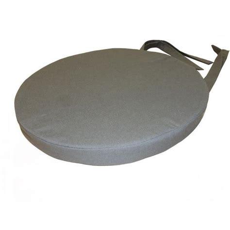 galette chaise ronde galette de chaise gris pas cher