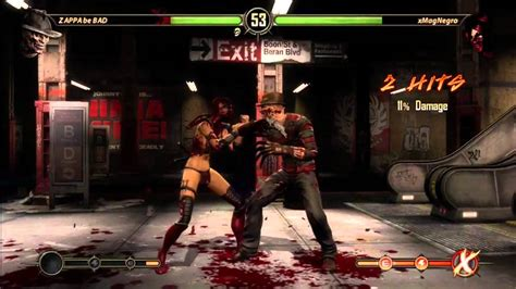 Mortal Kombat: First Games With Freddy Krueger [GAME 2 ...