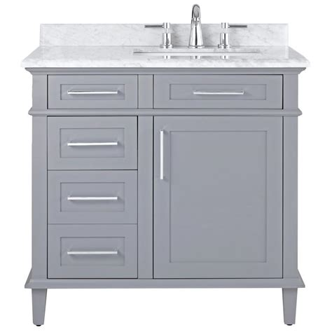 home depot bathroom sink tops home decorators collection sonoma 36 in w x 22 in d bath