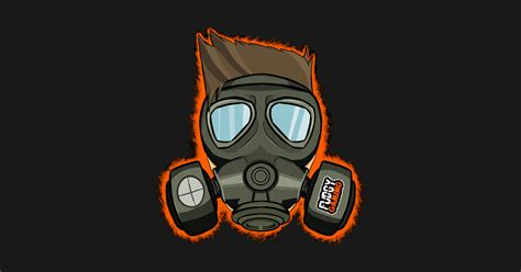 deadzone survivor gas mask design fudgy notebook teepublic