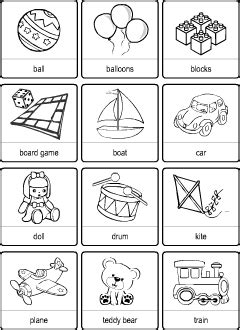 Toys vocabulary for kids learning English   Vocabulary quiz