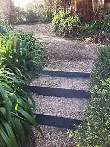 Faire Escalier Jardin. la fin de l 39 escalier de la terrasse guit ...