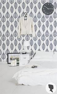 Decolle Papier Peint : stripy leaf wallpaper removable and non woven traditional material adh sif papier peint et ~ Dallasstarsshop.com Idées de Décoration